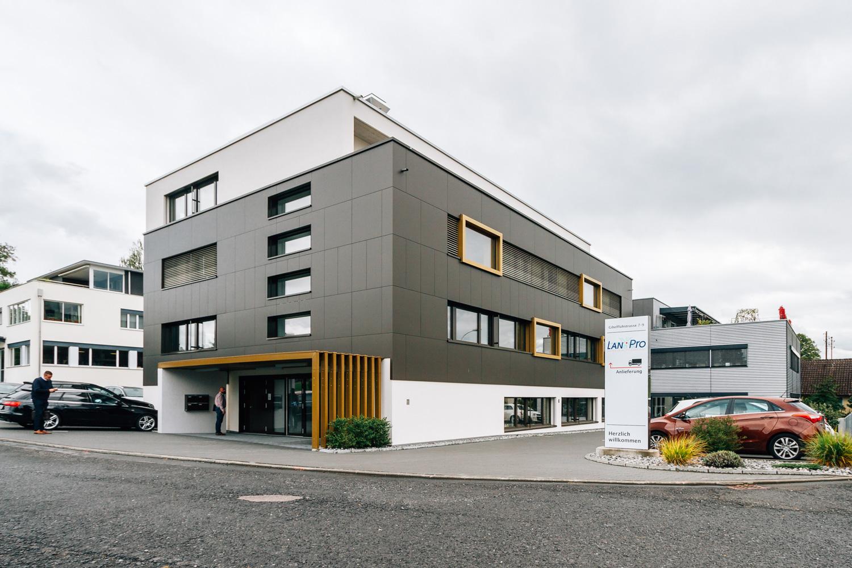 LAN Pro AG Firmengebäude